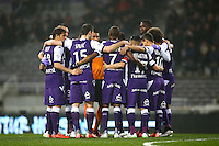 Joueurs de Toulouse - 28.02.2015 - Toulouse / Saint Etienne - 27eme journee de Ligue 1 -<br />