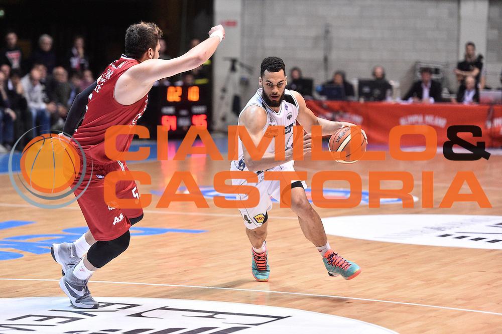 Milano 10.05.2016<br /> Basket Serie A - Playoff Gara 2<br /> EA7 Emporio Armani Milano - Dolomiti Energia Trento<br /> <br /> Nella foto: Trent Lockett