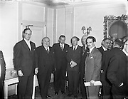 13/11/1956<br /> 11/13/1956<br /> 13 November 1956<br /> <br /> RG Data National Convention at Gresham Hotel<br /> <br /> Erskine Childers Attends
