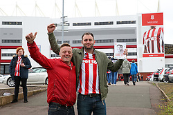 Stoke City fans arrive at the Bet365 Stadium - Mandatory by-line: Matt McNulty/JMP - 20/08/2016 - FOOTBALL - Bet365 Stadium - Stoke-on-Trent, England - Stoke City v Manchester City - Premier League