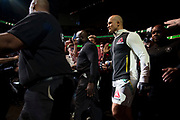 DALLAS, TX - MAY 13:  Junior dos Santos walks to the Octagon before fighting Stipe Miocic during UFC 211 at the American Airlines Center on May 13, 2017 in Dallas, Texas. (Photo by Cooper Neill/Zuffa LLC/Zuffa LLC via Getty Images) *** Local Caption *** Junior dos Santos