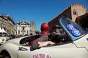 GP TAZIO NUVOLARI 2012. Mantova, Porsche 356 cabrio