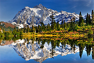 Mount Shuksan and Picture Lake, North Cascades National Park, Washington