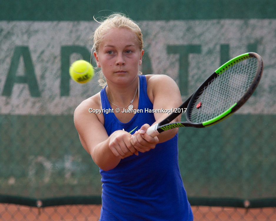 KIM JULIANE AUERSWALD(GER), Bavarian Junior Open 2017, Tennis Europe Junior Tour, GS14<br /> <br /> Tennis - Bavarian Junior Open 2017 - Tennis Europe Junior Tour -  SC Eching - Eching - Bayern - Germany  - 9 August 2017. <br /> &copy; Juergen Hasenkopf