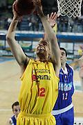 DESCRIZIONE : Frosinone Lega Basket A2 2011-12  Prima Veroli Centrle del Latte Brescia<br /> <br /> GIOCATORE : Gerald Lee<br /> <br /> CATEGORIA : tiro<br /> <br /> SQUADRA : Prima Veroli<br /> <br /> EVENTO : Campionato Lega A2 2011-2012<br /> <br /> GARA : Prima Veroli Centrale del Latte Brescia <br /> <br /> DATA : 18/03/2012<br /> <br /> SPORT : Pallacanestro <br /> <br /> AUTORE : Agenzia Ciamillo-Castoria/ A.Ciucci<br /> <br /> Galleria : Lega Basket A2 2011-2012 <br /> <br /> Fotonotizia : Frosinone Lega Basket A2 2011-12 Prima Veroli Centrale del Latte Brescia<br /> <br /> Predefinita :