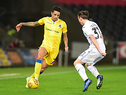 Daniel Leadbitter of Bristol Rovers - Mandatory by-line: Alex James/JMP - 05/12/2018 - FOOTBALL - Liberty Stadium - Swansea, England - Swansea City U21 v Bristol Rovers - Checkatrade Trophy