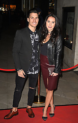 Gorka M‡rquez (left) attends the opening night of Fire in the Ballroom by dance company Burn the Floor at The Peacock in London.