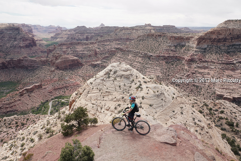 SHOT 5/21/17 11:47:48 AM - Emery County is a county located in the U.S. state of Utah. As of the 2010 census, the population of the entire county was about 11,000. Includes images of mountain biking, agriculture, geography and Goblin Valley State Park. (Photo by Marc Piscotty / © 2017)