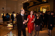 Alain and Charlotte de Botton with Lisa Johnson. Book party for LAST VOYAGE OF THE VALENTINA by Santa Montefiore (Hodder & Stoughton) Asprey,  New Bond St. 12 April 2005. ONE TIME USE ONLY - DO NOT ARCHIVE  © Copyright Photograph by Dafydd Jones 66 Stockwell Park Rd. London SW9 0DA Tel 020 7733 0108 www.dafjones.com