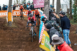 WORST Annemarie (NED) during Women Elite race, 2019 UCI Cyclo-cross World Cup Heusden-Zolder, Belgium, 26 December 2019. <br /> <br /> Photo by Pim Nijland / PelotonPhotos.com <br /> <br /> All photos usage must carry mandatory copyright credit (Peloton Photos | Pim Nijland)