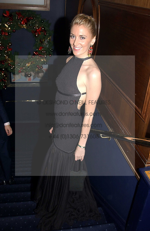 LADY EMILY COMPTON at a party hosted by Tatler magazine to celebrate the publication of the 2004 Little Black Book held at Tramp, 38 Jermyn Street, London SW1 on 10th November 2004.<br />
