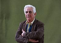 Salim Tamari.<br /> Edinburgh International Book Festival 2014 photos taken in Charlotte Square Gardens. Edinburgh. Pako Mera 12/08/2014