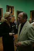 Lady Weidenfeld and Harold Pinter. Celebration of Lord Weidenfeld's 60 Years in Publishing hosted by Orion. the Weldon Galleries. National Portrait Gallery. London. 29 June 2005. ONE TIME USE ONLY - DO NOT ARCHIVE  © Copyright Photograph by Dafydd Jones 66 Stockwell Park Rd. London SW9 0DA Tel 020 7733 0108 www.dafjones.com
