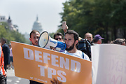 DACA march in Washington, DC