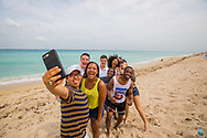 North Miami Campus shoot April 2017. Student life at the beach.<br />