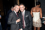 DEAN CATEN; DAN CATEN, (OF DQUARED2 ) DSquared2 Launch of their Classic collection. Tramp. Jermyn St. London. 29 June 2011. <br /> <br />  , -DO NOT ARCHIVE-© Copyright Photograph by Dafydd Jones. 248 Clapham Rd. London SW9 0PZ. Tel 0207 820 0771. www.dafjones.com.