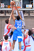 DESCRIZIONE : Final Eight Coppa Italia 2015 Desio Quarti di Finale Banco di Sardegna Sassari vs Grissin Bon Reggio Emilia<br /> GIOCATORE : Brooks Jeff<br /> CATEGORIA :Controcampo Schiacciata<br /> SQUADRA : Banco di Sardegna Sassari<br /> EVENTO : Final Eight Coppa Italia 2015 Desio <br /> GARA : Grissin Bon Reggio Emilia vs Dolomiti Energia Trento  <br /> DATA : 20/02/2015 <br /> SPORT : Pallacanestro <br /> AUTORE : Agenzia Ciamillo-Castoria/I.Mancini