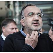Sergio Marchionne Amministratore Delegato di FIAT S.p.A. e Presidente e Amministratore Delegato di Chrysler Group LLC..Torino settembre 2012 .