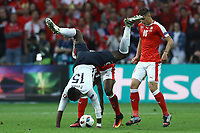 Pual Pogba France, Breel Emmolo Switzerland <br /> Lille 19-06-2016 Stade de Pierre Mauroy Footballl Euro2016 Switzerland - France / Svizzera - Francia Group Stage Group A. Foto Matteo Ciambelli / Insidefoto