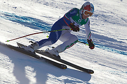 10.02.2011, Kandahar, Garmisch Partenkirchen, GER, FIS Alpin Ski WM 2011, GAP, Damen Abfahrtstraining, im Bild Daniela Merighetti (ITA) whilst competing in the women's downhill training run on the Kandahar race piste at the 2011 Alpine skiing World Championships, EXPA Pictures © 2011, PhotoCredit: EXPA/ M. Gunn