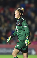 Bristol Academy Womens' Mary Earps - Photo mandatory by-line: Paul Knight/JMP - Mobile: 07966 386802 - 13/11/2014 - SPORT - Football - Bristol - Ashton Gate Stadium - Bristol Academy v FC Barcelona - UEFA Women's Champions League