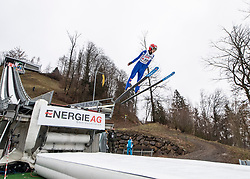 03.02.2019, Energie AG Skisprung Arena, Hinzenbach, AUT, FIS Weltcup Ski Sprung, Damen, im Bild Eva Pinkelnig (AUT) // Eva Pinkelnig (AUT) during the woman's Jump of FIS Ski Jumping World Cup at the Energie AG Skisprung Arena in Hinzenbach, Austria on 2019/02/03. EXPA Pictures © 2019, PhotoCredit: EXPA/ Reinhard Eisenbauer