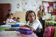 Class in one of the local schools in Frumusina. In Frumusani, the Roma Education Fund—supported by the World Bank, Open Society Foundations, the European Union, and other donors—is working to remove the barriers local Roma children face to complete their primary school education.