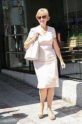 © Licensed to London News Pictures. 23/07/2019. London, UK. Andrea Leadsom leaves QEII Centre after Boris Johnson elected as leader of the  Conservative Party and the new British Prime Minister. Dinendra Haria/LNP