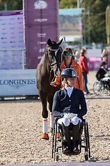 Freestyle Grade II Para Dressage - Gothenburg 2017