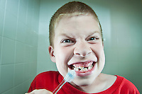 #3 Wash Teeth If Any<br /> &lt;br&gt;<br /> Nathan Burke, Seven-Year-Old<br /> &lt;P&gt;<br /> Young Nathan enthusiastically heeds Guthrie's advice.