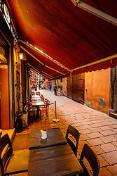 early morning in a street in Bologna, Italy<br /> <br /> (c) Andrew Wilson | Edinburgh Elite media