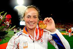 22-08-2008 HOCKEY: OLYMPISCHE SPELEN FINALE CHINA - NEDERLAND: BEIJING <br /> Nederlands dames hockey elftal Olympisch kampioen 2008 - Maartje Paumen<br /> ©2008-FotoHoogendoorn.nl