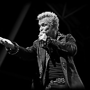 Billy Idol performing on 6/27/13 during Summerfest at the BMO Harris Pavilion in Milwaukee, Wi.  Photo © 2013 Jennifer Rondinelli Reilly.  All Rights Reserved. No use without permission. Contact me for any reuse or licensing inquiries.