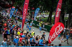 Otroski tek at 10th Nocna 10ka 2016, traditional run around Bled's lake, on July 09, 2016 in Bled,  Slovenia. Photo by Vid Ponikvar / Sportida