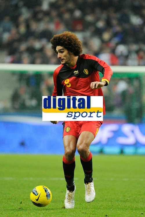 FOOTBALL - FRIENDLY GAME 2011 - FRANCE v BELGIUM - 15/11/2011 - PHOTO JEAN MARIE HERVIO / DPPI - MAROUANE FELLAINI (BEL)