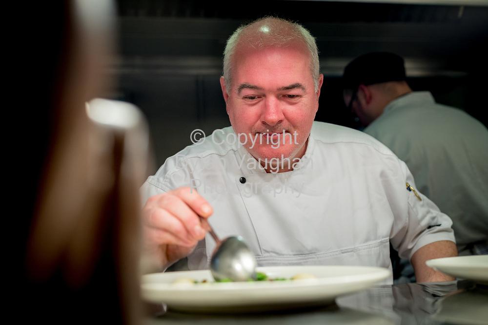 11-4-17<br /> <br /> Chef Garret Byrne of Campagne in Kilkenny.<br /> Picture Dylan Vaughan.