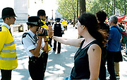 Legalise Cannabis march Embankment London UK 1998