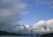 Golden Gate Bridge, Pacific Ocean, San Francisco Bay, San Francisco, California