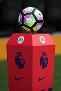 Official Nike Premier league Football during the Premier League match between Hull City and Swansea City at the KCOM Stadium, Kingston upon Hull, England on 11 March 2017. Photo by Craig Zadoroznyj.