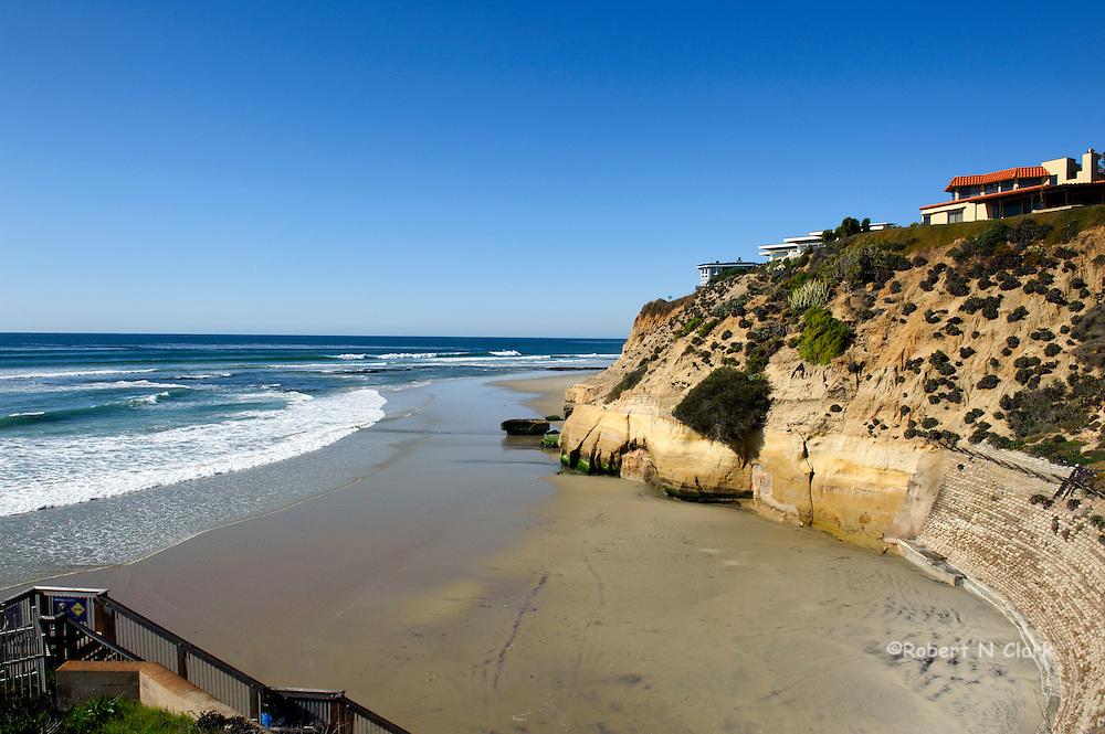 Beach access in Solana Beach