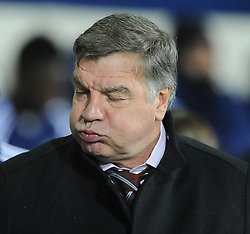 West Ham Manager, Sam Allardyce - Photo mandatory by-line: Dougie Allward/JMP - Mobile: 07966 386802 - 02/12/2014 - SPORT - Football - West Bromwich - The Hawthorns - West Bromwich Albion v West Ham United - Barclays Premier League