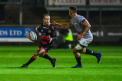 Dragons' Sarel Pretorius in action - Mandatory by-line: Craig Thomas/JMP - 30/09/2017 - RUGBY - Rodney Parade - Newport, Gwent, Wales - Newport Gwent Dragons v Southern Kings - Guinness Pro 14