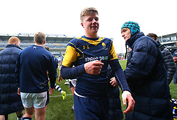 Noah Heward (Solihull School) of Worcester Warriors Under 18s - Mandatory by-line: Robbie Stephenson/JMP - 14/01/2018 - RUGBY - Sixways Stadium - Worcester, England - Worcester Warriors Under 18s v Yorkshire Carnegie Under 18s - Premiership Rugby U18 Academy
