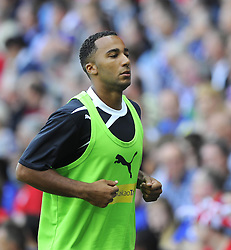 Cardiff City's Nicky Maynard  - Photo mandatory by-line: Joe Meredith/JMP - Tel: Mobile: 07966 386802 25/08/2013 - SPORT - FOOTBALL - Cardiff City Stadium - Cardiff -  Cardiff City V Manchester City - Barclays Premier League