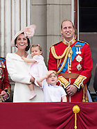 Princess Charlotte's 1st Public Wave - Trooping