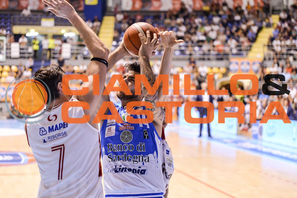 DESCRIZIONE : Supercoppa 2015 Semifinale Dinamo Banco di Sardegna Sassari - Grissin Bon Reggio Emilia<br /> GIOCATORE : Brian Sacchetti<br /> CATEGORIA : Tiro Penetrazione<br /> SQUADRA : Dinamo Banco di Sardegna Sassari<br /> EVENTO : Supercoppa 2015<br /> GARA : Dinamo Banco di Sardegna Sassari - Grissin Bon Reggio Emilia<br /> DATA : 26/09/2015<br /> SPORT : Pallacanestro <br /> AUTORE : Agenzia Ciamillo-Castoria/L.Canu