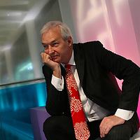 London, United Kingdom - March 2008, Channel 4 News Presenter Jon Snow,  Channel 4 Studios.