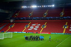 LIVERPOOL, ENGLAND - Monday, December 10, 2018: SSC Napoli players during a training session at Anfield ahead of the UEFA Champions League Group C match between Liverpool FC and SSC Napoli. (Pic by David Rawcliffe/Propaganda)