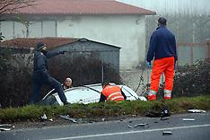 20160130 INCIDENTE MORTALE VITTORIO BOARI MONESTIROLO STATALE 16 ADRIATICA