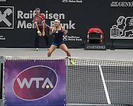 Dominika Cibulkova (SVK) during the semi finals of the WTA Generali Ladies Linz Open at TipsArena, Linz<br /> Picture by EXPA Pictures/Focus Images Ltd 07814482222<br /> 15/10/2016<br /> *** UK &amp; IRELAND ONLY ***<br /> <br /> EXPA-REI-161015-5017.jpg